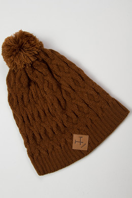 Шапка MAZINE Below Beanie Simian Brown 12486 фото