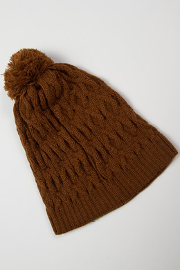 Шапка MAZINE Below Beanie Simian Brown 12486 фото 2