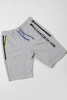 Шорты CROOKS & CASTLES - Starburd Short Heather Grey