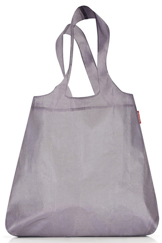 Сумка складная mini maxi shopper reflective (серебряный)