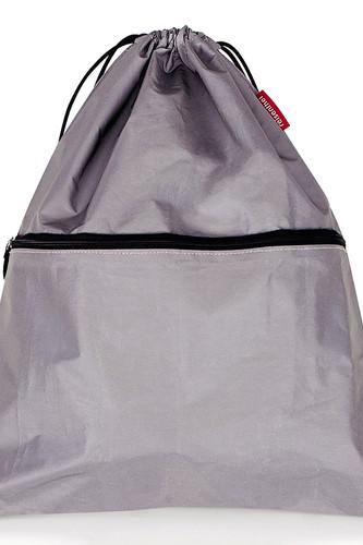Рюкзак складной mysac reflective (серебряный)