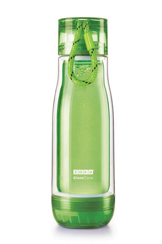 Колба стеклянная 475 мл зеленая (зеленый)