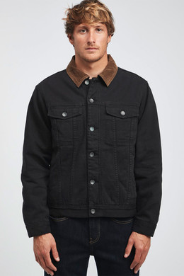 Куртка BILLABONG BARLOW TRUCKER 19 (Black) фото