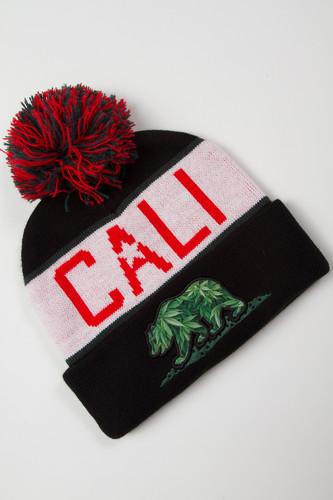 Шапка CAYLER & SONS Cali Kush Pom Pom Beanie (Black) шапка cayler