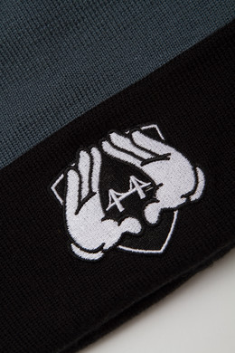 Шапка CAYLER & SONS Crooklyn Beanie Black/Grey фото 2