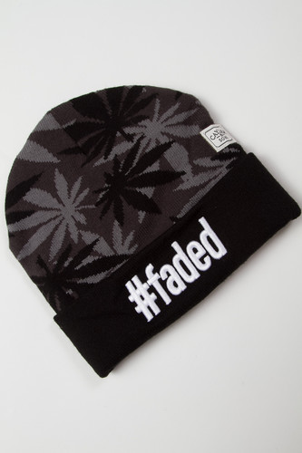 Шапка CAYLER & SONS #faded Beanie (Black/Grey)