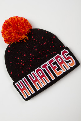 Шапка CAYLER & SONS Hi Haters Beanie Black/Orange фото