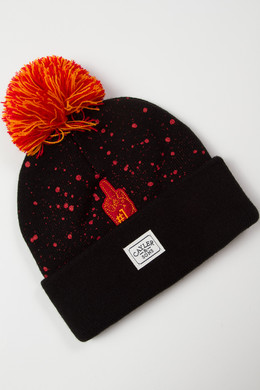 Шапка CAYLER & SONS Hi Haters Beanie Black/Orange фото 2