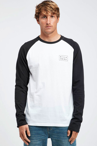 Лонгслив Billabong Die Cut Ls Tee (19 (Black), M)