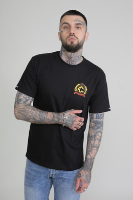 Футболка CROOKS & CASTLES Empire Crest S/S Tee Black