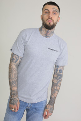 Футболка CROOKS & CASTLES Core Medusa S/S Tee Grey