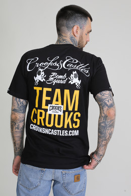 Футболка CROOKS & CASTLES Team Crooks S/S Tee Black