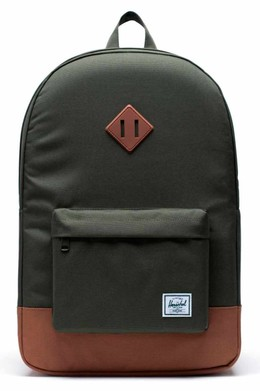 Рюкзак HERSCHEL Heritage Dark Olive/Saddle Brown фото
