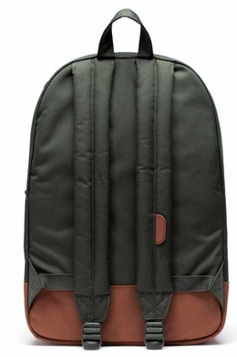Рюкзак HERSCHEL Heritage Dark Olive/Saddle Brown фото 2