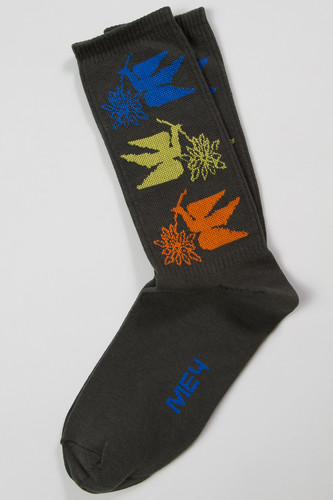 Носки МЕЧ S19 SK Birds (Хаки, 37-40) футболка меч s19 w ts moscow женская черный xs
