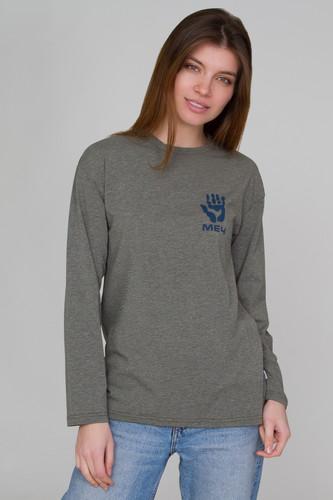 Лонгслив МЕЧ S19 LG W Kosmopolit (женский) (Хаки, XS) футболка меч s19 w ts moscow женская черный xs