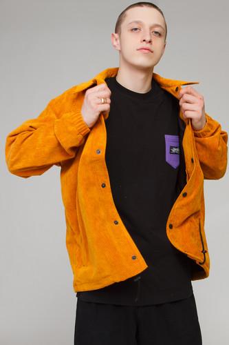 Куртка ANTEATER Coachjkt-vlvt (Yellow, M)