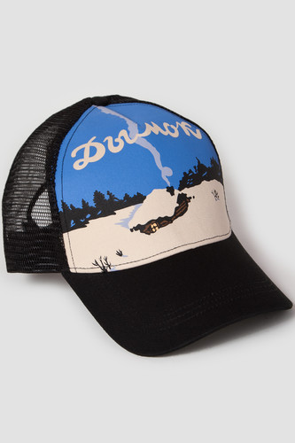 Бейсболка ЗАПОРОЖЕЦ Dymok/Дымок Trucker Cap (Black, O/S) цена 2017