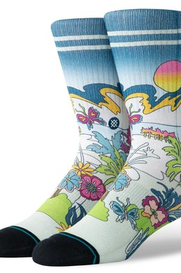 Носки STANCE FOUNDATION TOTAL PARADISE Multi фото
