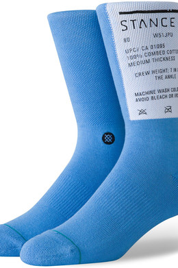 Носки STANCE WASH OUT Blue фото
