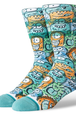Носки STANCE KEVIN LYONS CRUNCH Teal фото