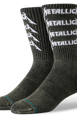 Носки STANCE METALLICA STACK Black фото