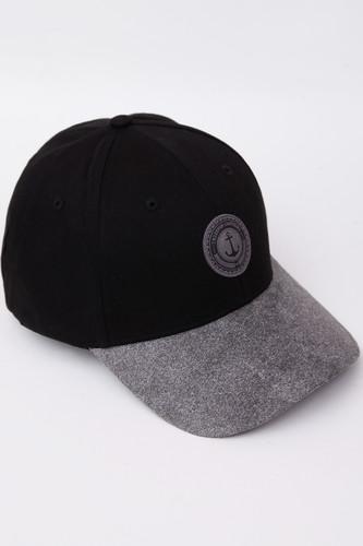Бейсболка TRUESPIN Anker SS19 (Black/Grey, O/S)