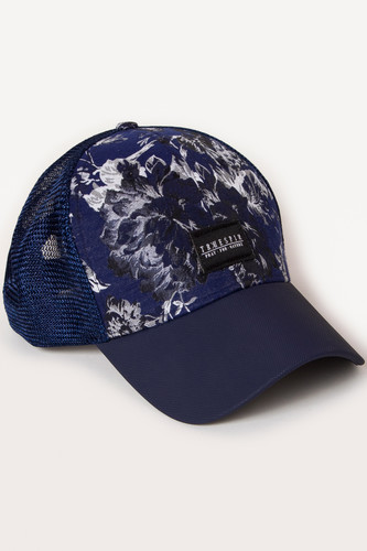 Бейсболка TRUESPIN Blossom Trucker (Navy, O/S) бейсболка truespin 2 tone blank trucker cap heather grey white o s