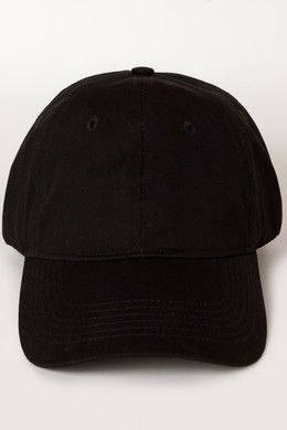 Бейсболка TRUESPIN Unstrucured Dad Cap SS20 Black фото 2