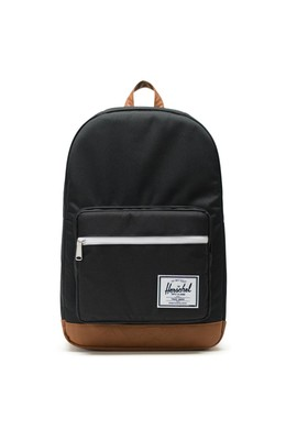 Рюкзак HERSCHEL Pop Quiz Black/Tan Synthetic Leather фото