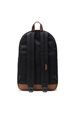 Рюкзак HERSCHEL Pop Quiz Black/Tan Synthetic Leather фото 2