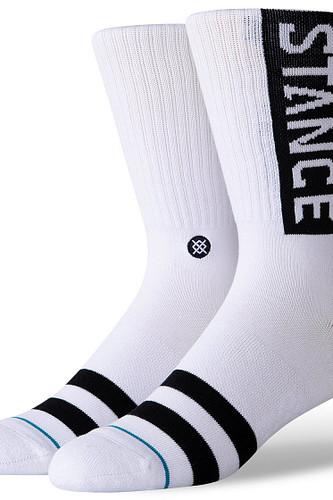 Носки STANCE OG (White, M) носки stance uncommon solids w classic uncommon green m