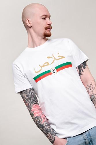 Футболка MISTER TEE Khalas Tee (White, M) футболка mister tee sorry tee black m