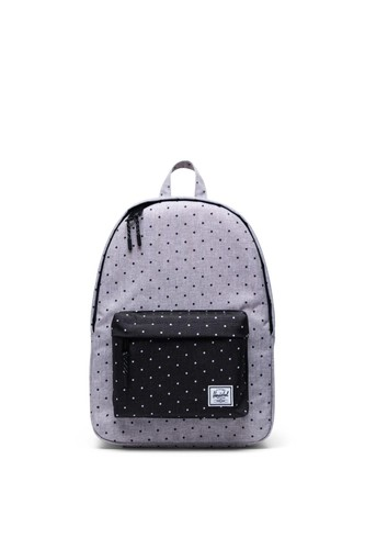 Рюкзак HERSCHEL Classic Mid-Volume 10485 (Polka Dot Crosshatch Grey/Black)
