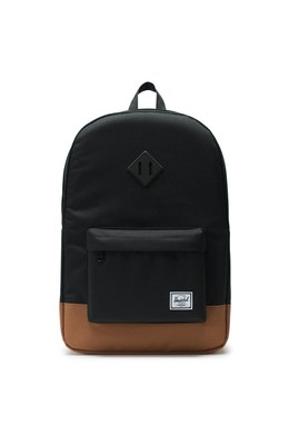 Рюкзак HERSCHEL Heritage Black/Saddle Brown фото