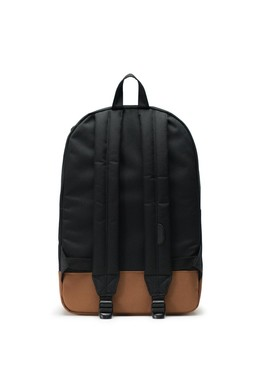 Рюкзак HERSCHEL Heritage Black/Saddle Brown фото 2