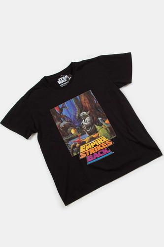 Фото - Футболка MISTER TEE Star Wars Yoda Poster Tee (Black, M) футболка converse tilted star chevron tee