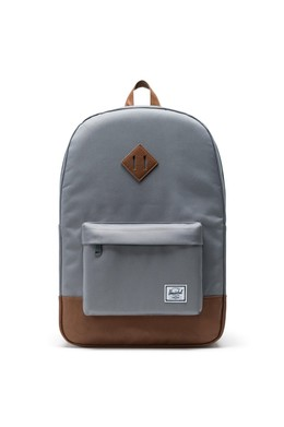 Рюкзак HERSCHEL Heritage Grey/Tan Synthetic Leather фото