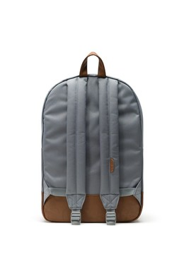 Рюкзак HERSCHEL Heritage Grey/Tan Synthetic Leather фото 2