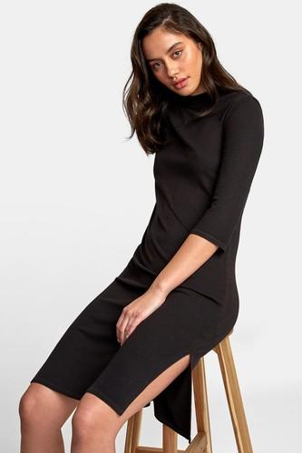 Платье RVCA Cobra (19 (Black), S) футболка rvca rvca rv002ewfcok3