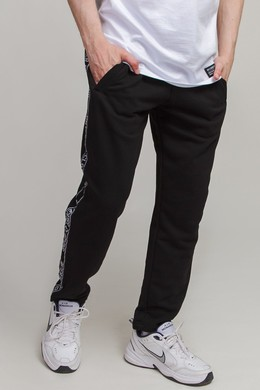 Брюки ANTEATER Sweatpants Stripe Black фото