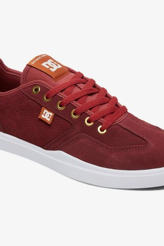 Скейтовые кеды DC SHOES Vestrey S AR (Red/Brown/White (xrcw), 10.5)