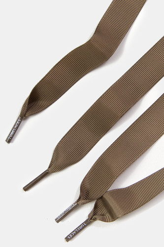 Шнурки TUBE LACES Grosgrain Ribbon Lace Pack (2шт) (Olive-90 см)