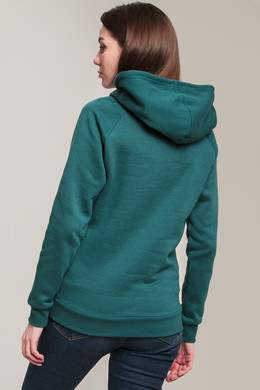 Толстовка URBAN CLASSICS Ladies Raglan High Neck Hoody Teal фото 2