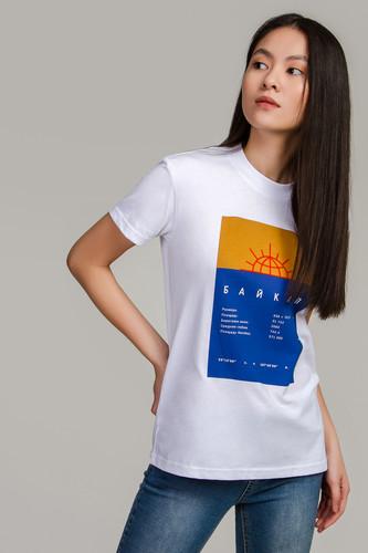Футболка МЕЧ TS W Baikal White женская (Белый, 2XS)