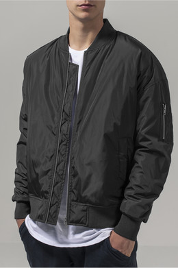 Куртка URBAN CLASSICS Oversized Bomber Jacket Black фото