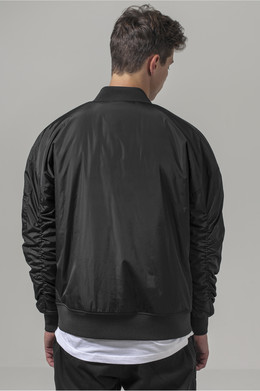 Куртка URBAN CLASSICS Oversized Bomber Jacket Black фото 2