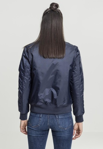 Куртка URBAN CLASSICS Ladies Basic Bomber Jacket Navy фото 6