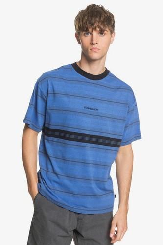 Мужская футболка QUIKSILVER Back On (DAZZLING BLUE BACK ON TEE (ppm3), XL) цена 2017