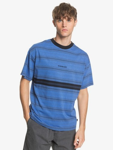 Мужская футболка QUIKSILVER Back On DAZZLING BLUE BACK ON TEE (ppm3) фото 4